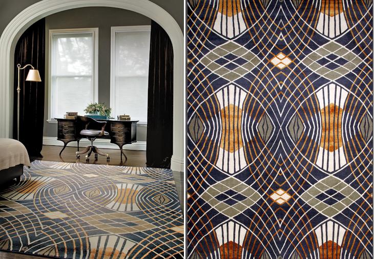 Catherine martin westchester great gatsby rug casa elan for Deco design magazine