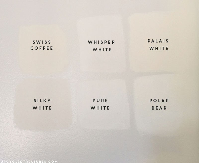 Paint White Sample Paint On Walls To Find Perfect White Paint Color